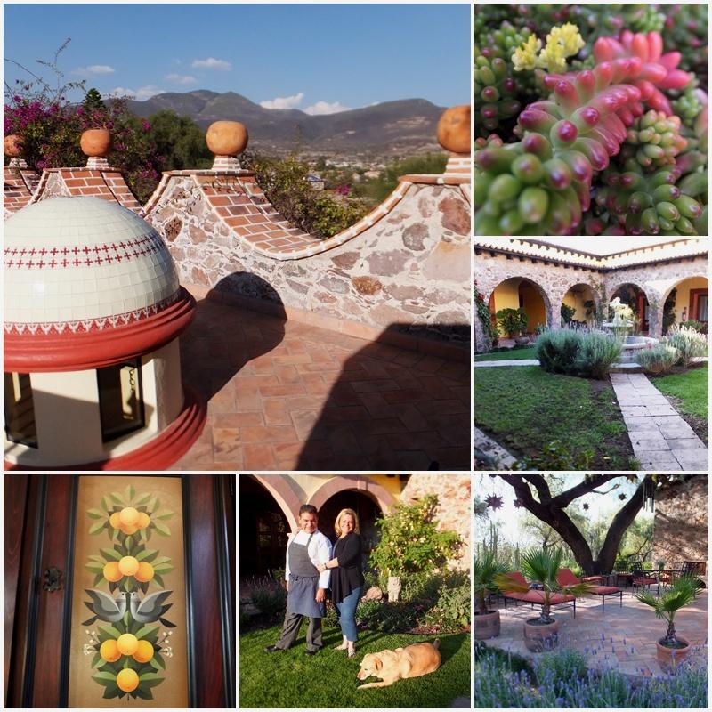 La Hacienda Purisima de Jalpa: view from Benja's cottage