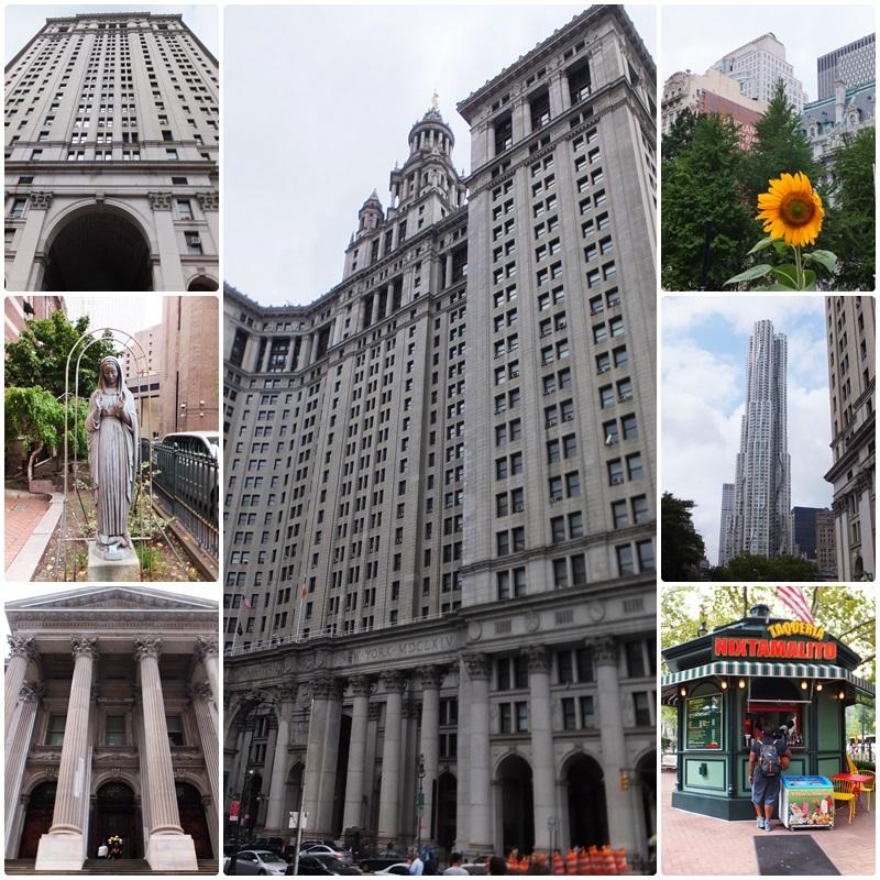 Foley Square in Manhattan
