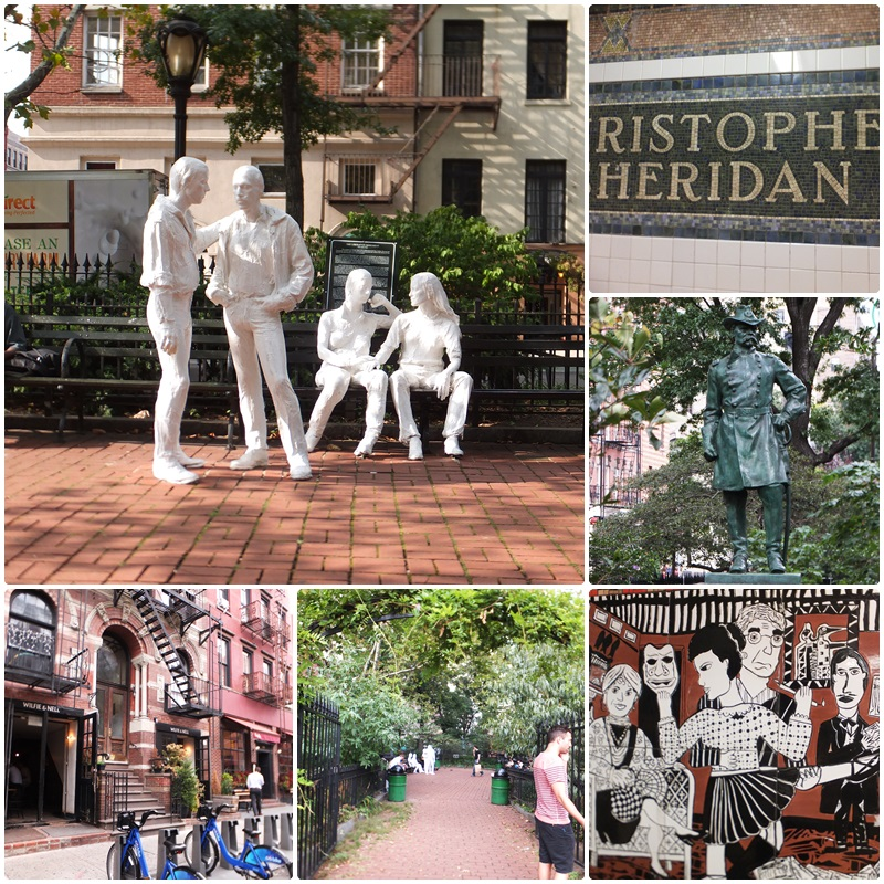 Sheridan Square and Christopher Park