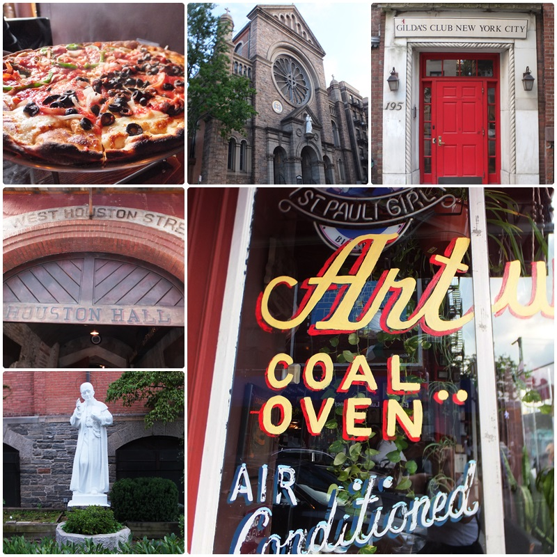 A walk on Houston Street and dinner at Arturo's