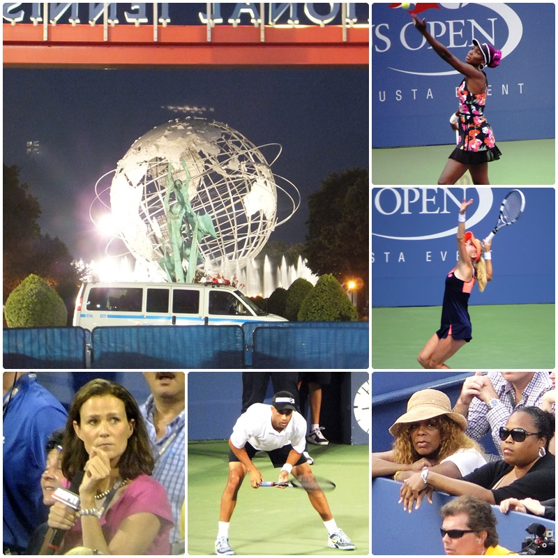 Lots of star power at the US Open