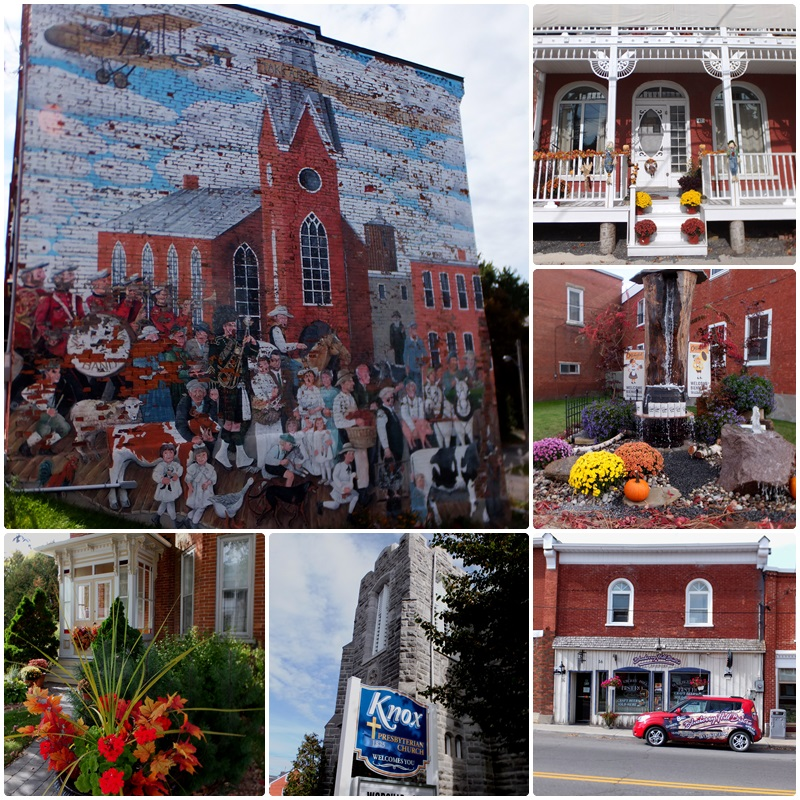 Several historic murals adorn the main streets of Vankleek Hill