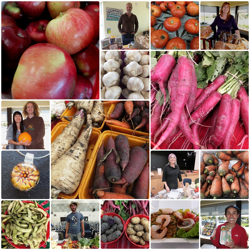 A morning visit to the Farmers' Market in Vankleek Hill