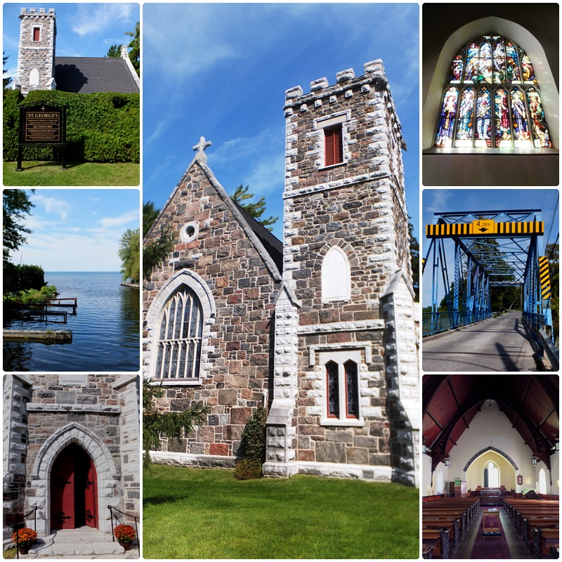 Beautiful St. George's Anglican Church dates back to 1877