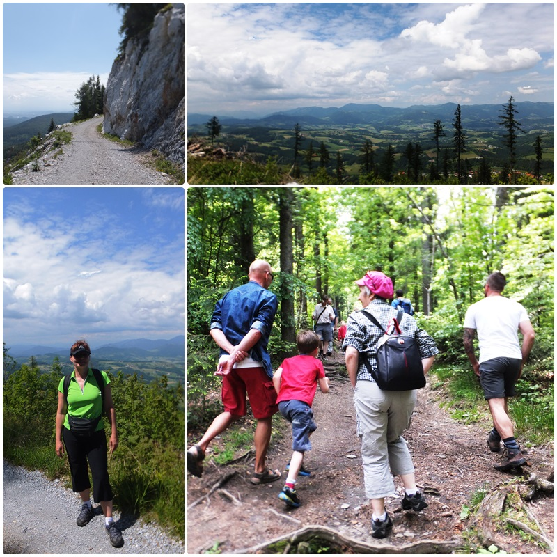 Ascending the Schöckl Mountain, a popular destination near Graz, the capital of Styria