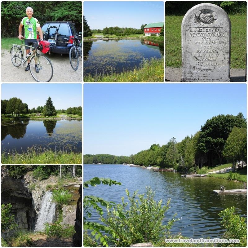 A bike tour around Eugenia Lake