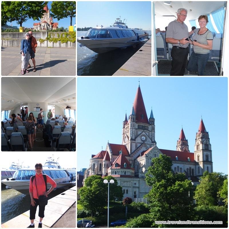 A speedboat trip from Vienna to Bratislava