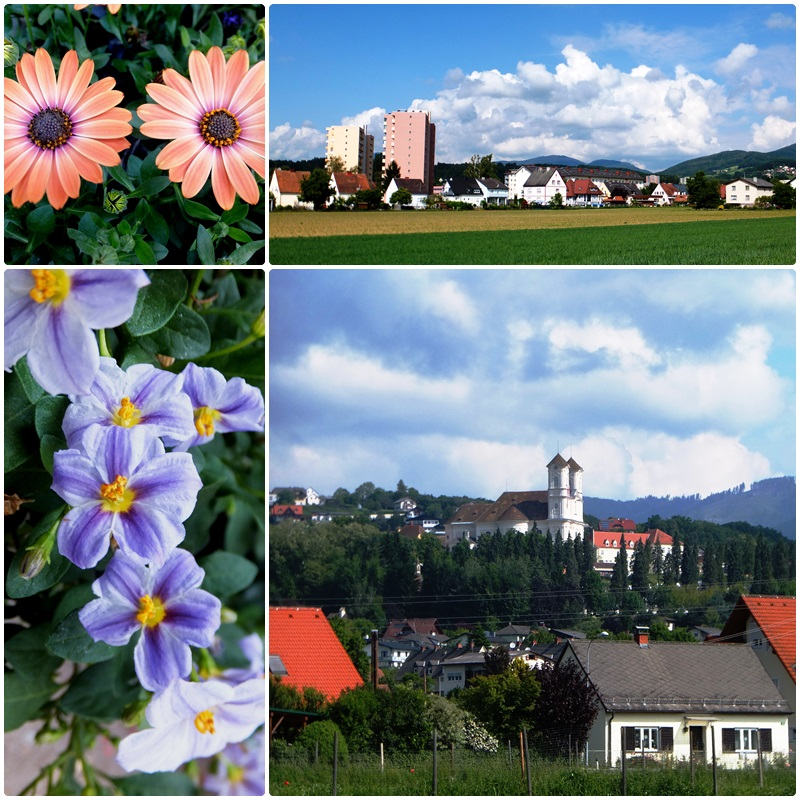 Weiz is surrounded by Alpine foothills
