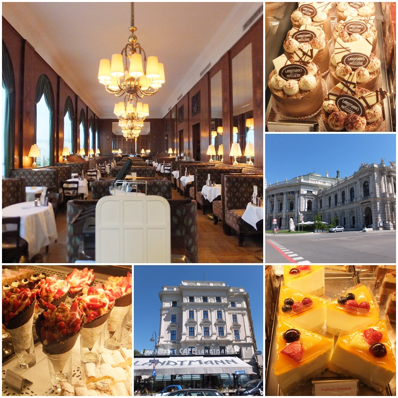 Café Landtmann, an institution right next to the renowned Burgtheater