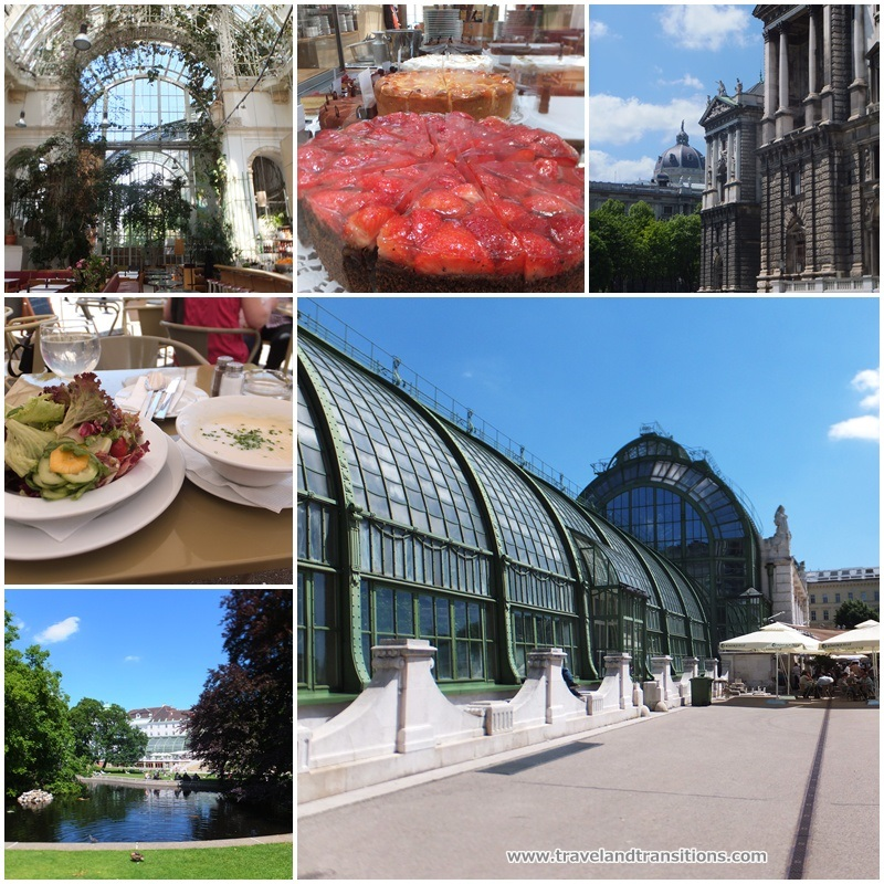 The historic Palmenhaus, a great place for lunch