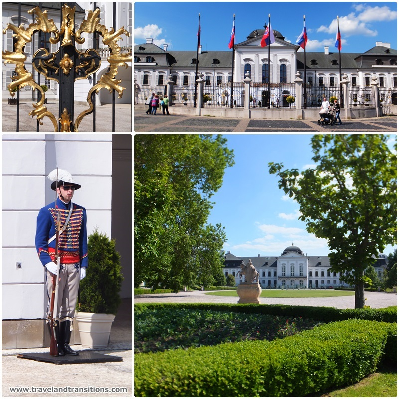The Grassalkovich Presidential Palace in Bratislava