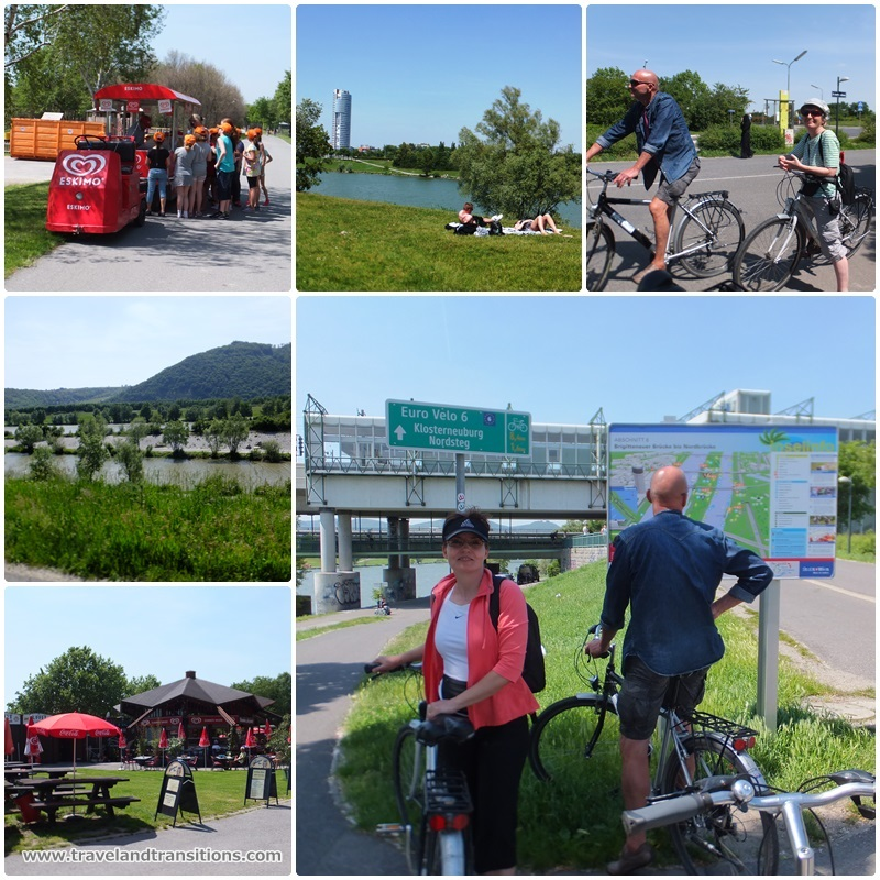 Cycling on the Donauinsel (Danube Island)