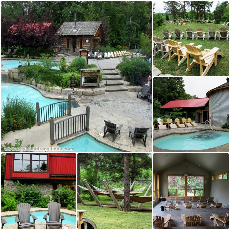 The Scandinave Spa Blue Mountain