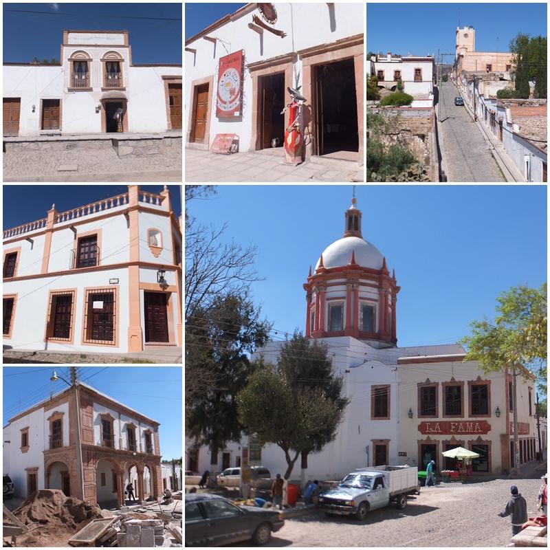 The main square of Mineral de Pozos