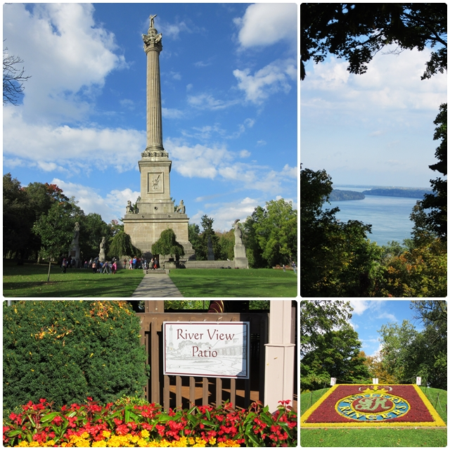 Queenston Heights offers one of the best views of the Niagara River
