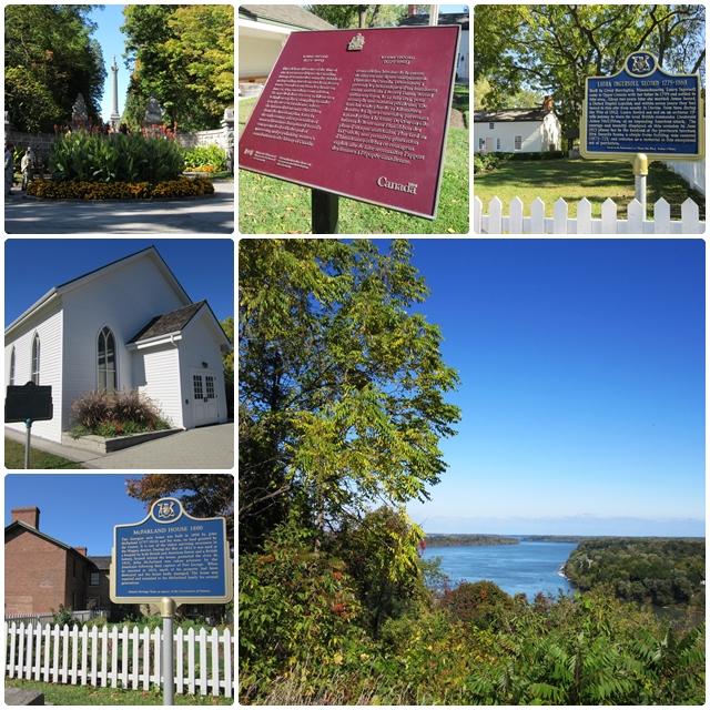 Historic places along the Niagara Parkway