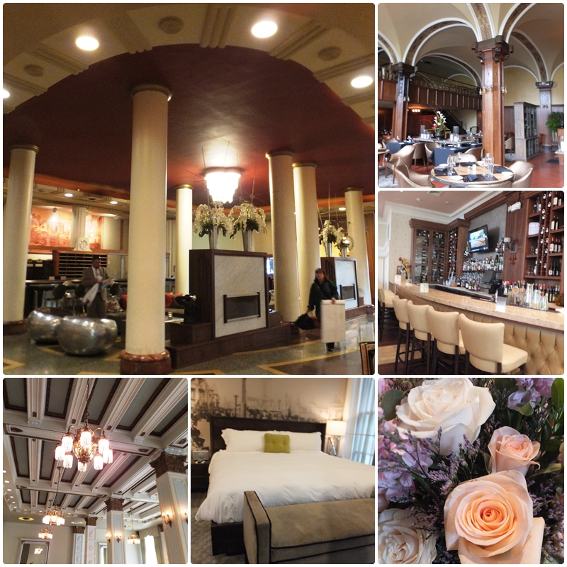 The beautifully restored Hotel @ the Lafayette in Buffalo