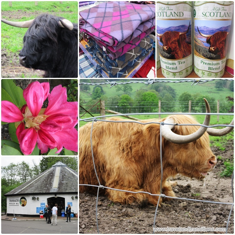 A visit to the Trossachs Woollen Mill