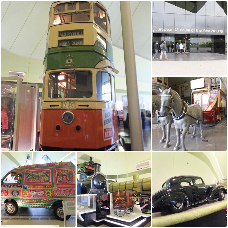 The Riverside Museum is a really cool museum