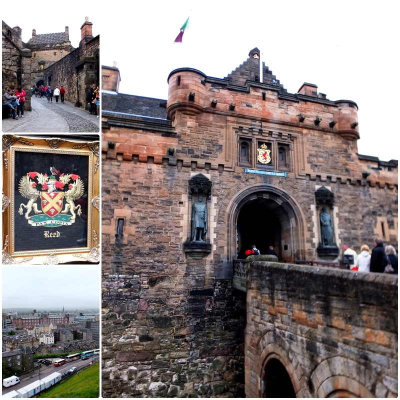 Edinburgh Castle, the foremost attraction in the city