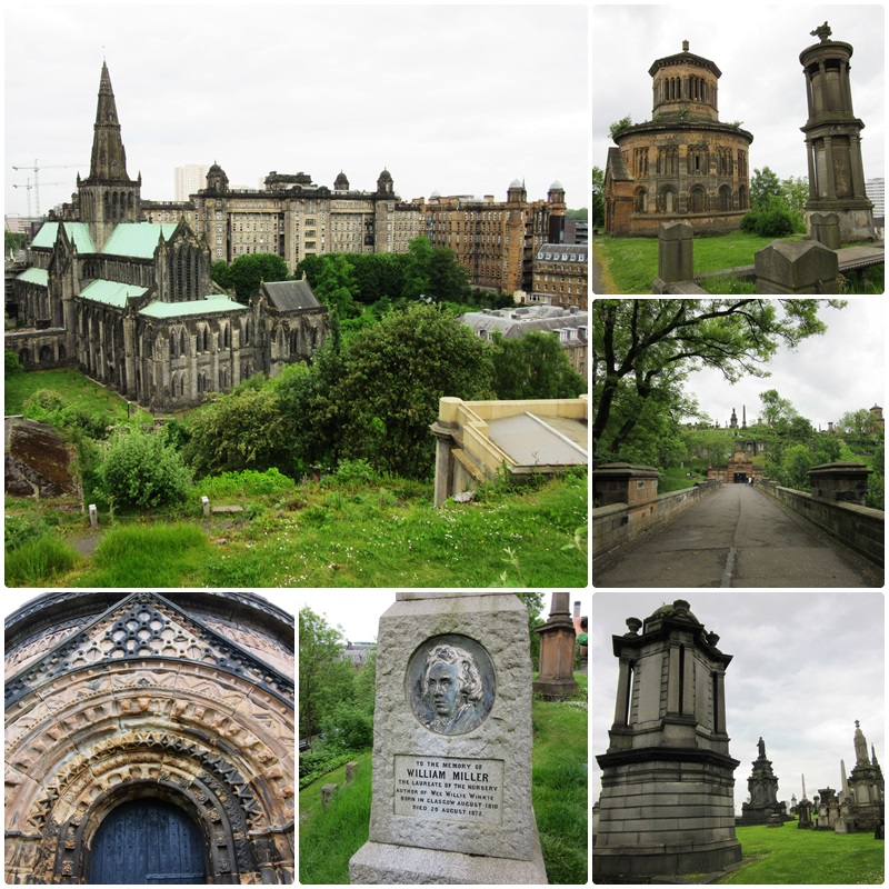 The Necropolis Cemetery, next to Glasgow Cathedral