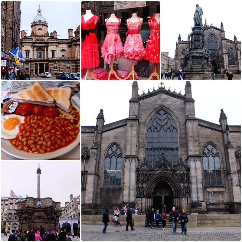 St. Giles Cathedral - an important landmark on the Royal Mile