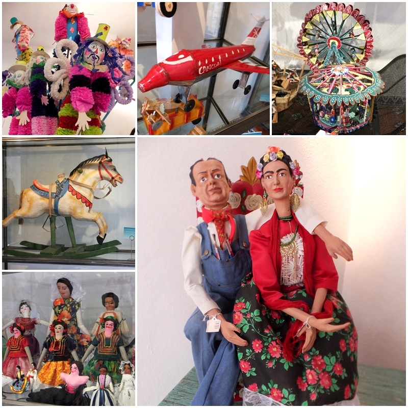Great exhibits at the Toy Museum of San Miguel de Allende