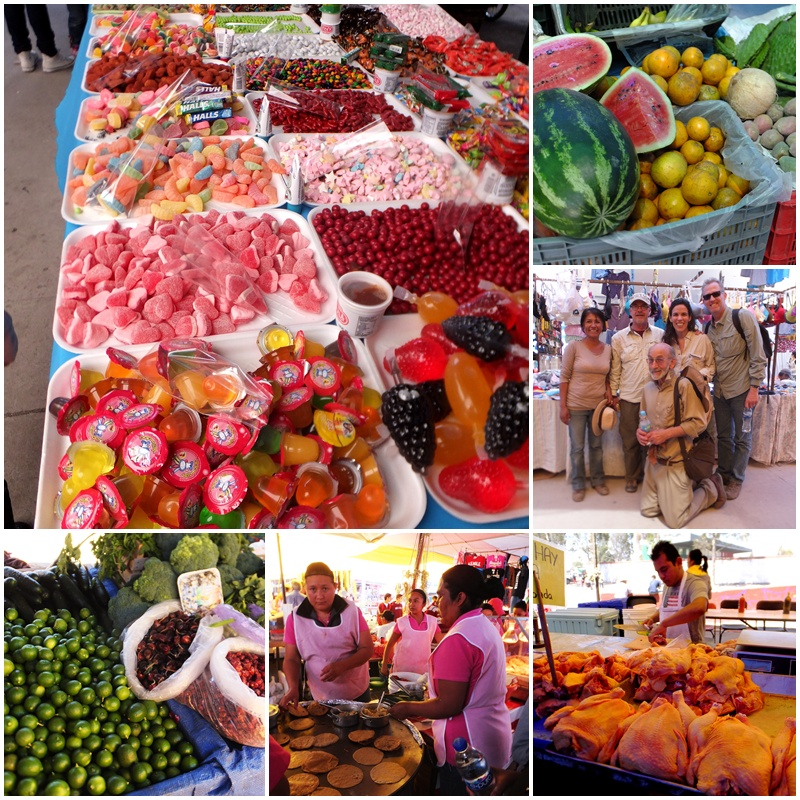 The Tianguis del Martes is full of colour
