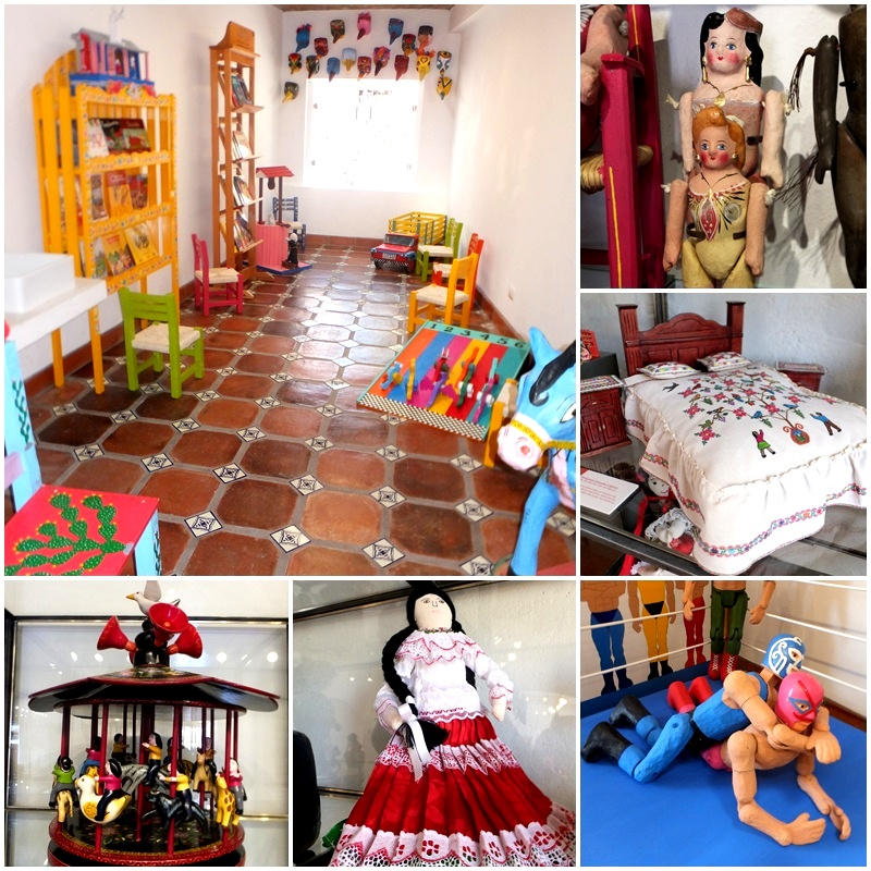 Toys from all over Mexico can be admired at San Miguel's Toy Museum