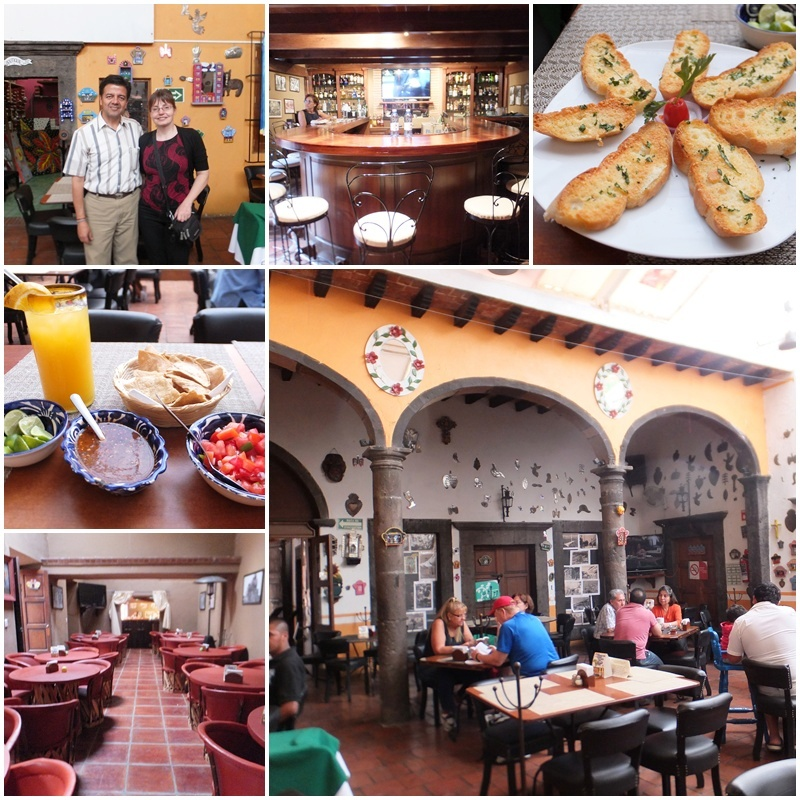 Los Milagros is a popular restaurant in San Miguel
