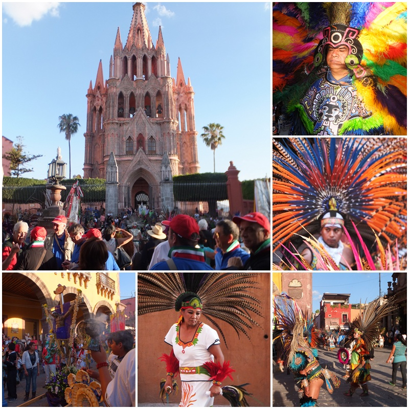 The Fiesta del Señor de la Conquista continued long into the evening
