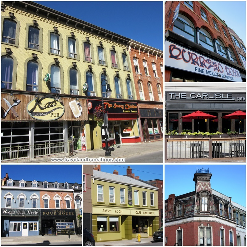 Downtown St. Catharines - Victorian architecture galore