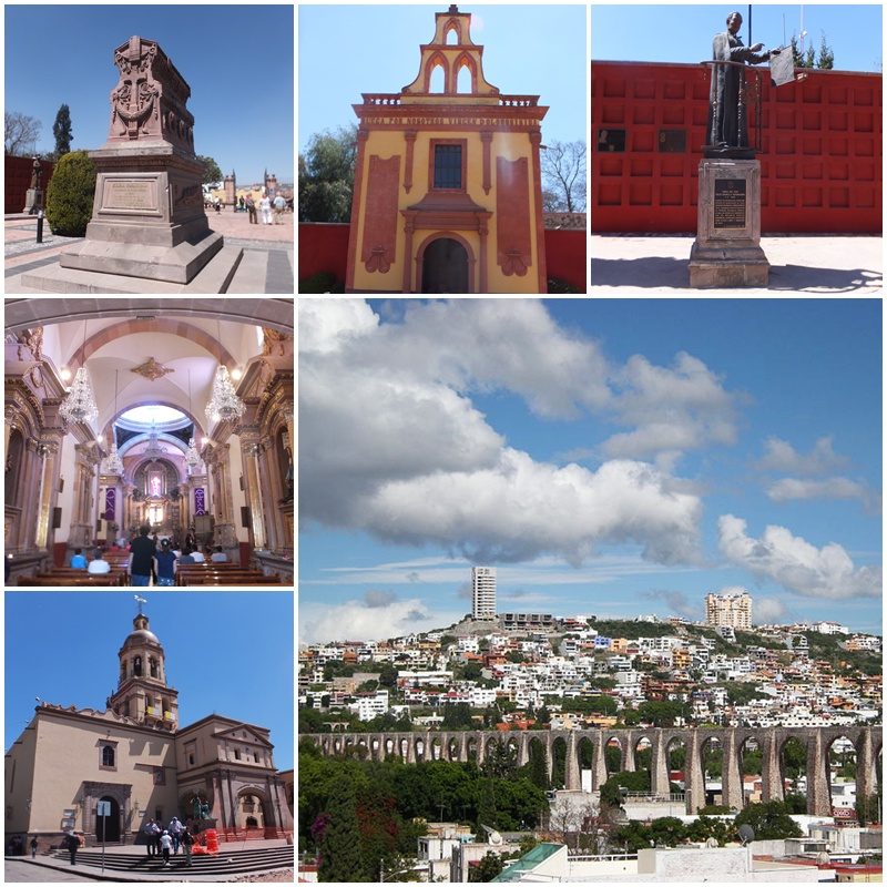 Great views of Queretaro from the Mirador