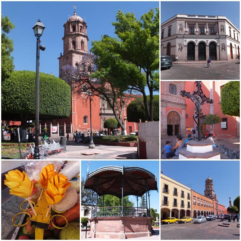 The main square of Queretaro