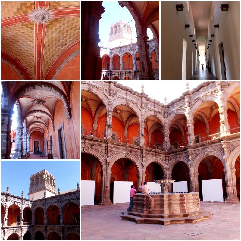 The Museo de Arte in Queretaro