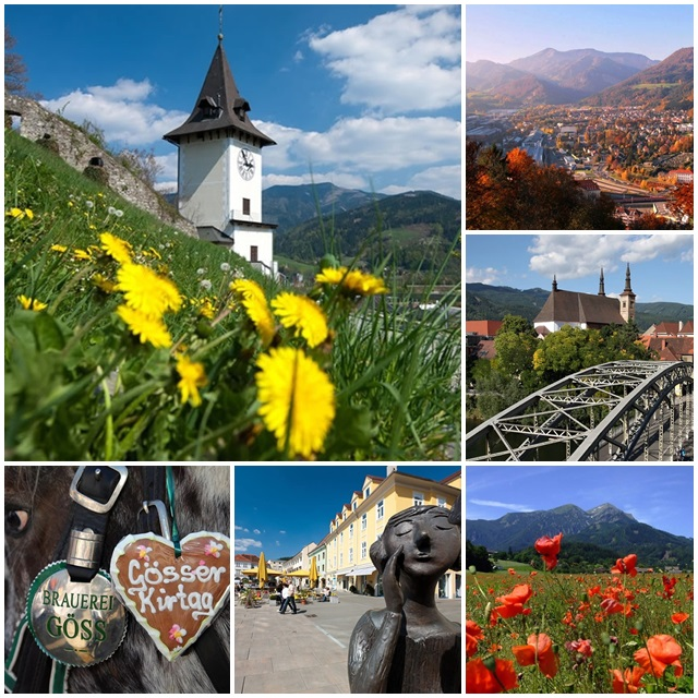Other beautiful cities like Leoben, Bruck, Mürzzuschlag or Kindberg are definitely worth a visit
