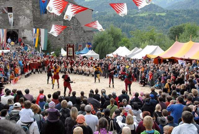 """Ritterfest"" is Kapfenberg's medieval festival and the city's biggest annual event"