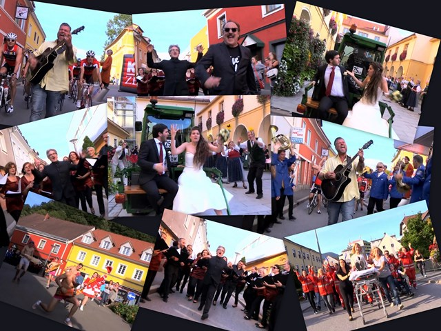 An entire choir and a passionate young married couple also star in the Kapfenberg Lipdub