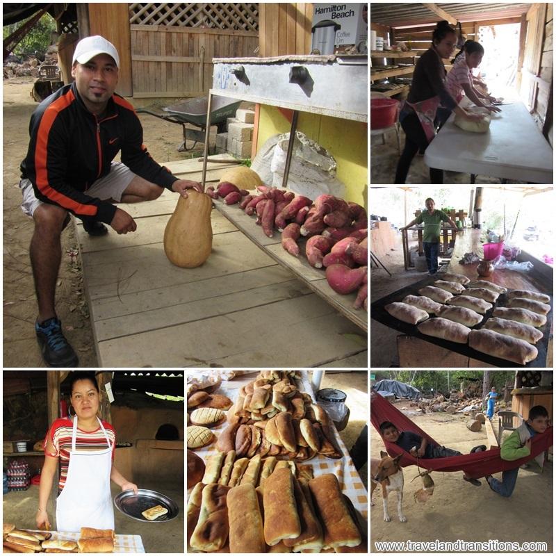 """Panaderia Los Pinitos"" - a roadside bakery"