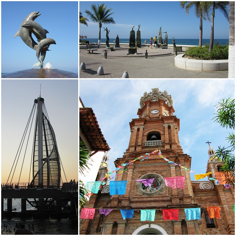 Puerto Vallarta and some of its icons