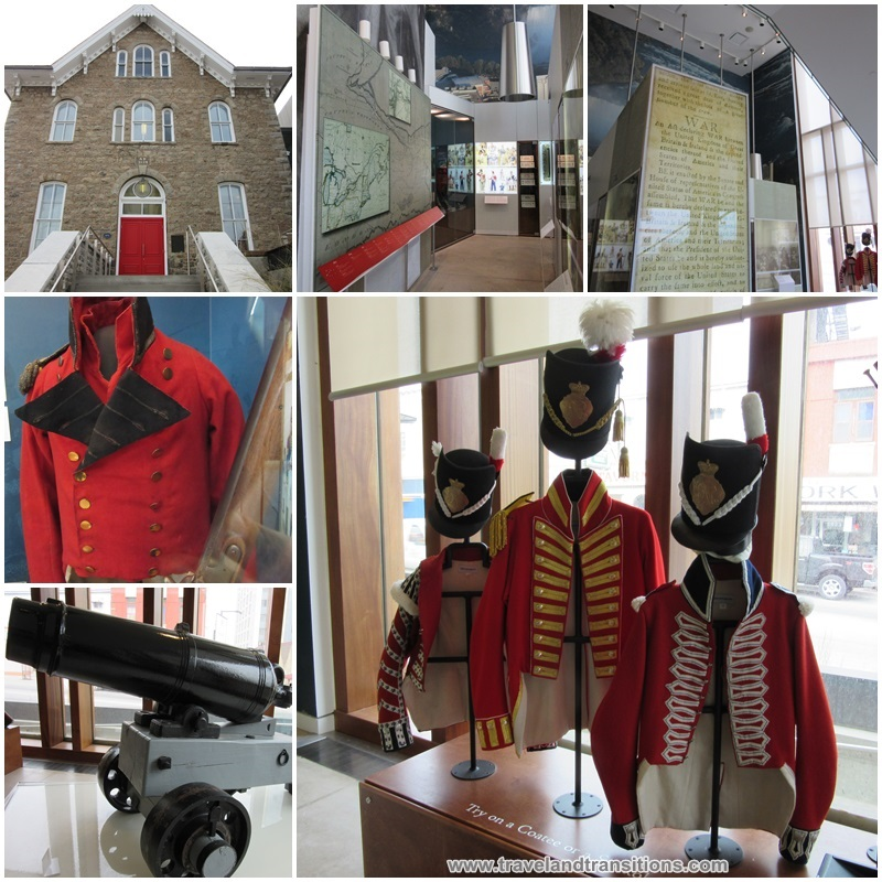 Try on historic soldiers' uniforms at the Niagara Falls History Museum