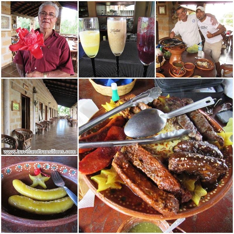 Dinner at Hacienda El Divisadero: a culinary tour of Mexico