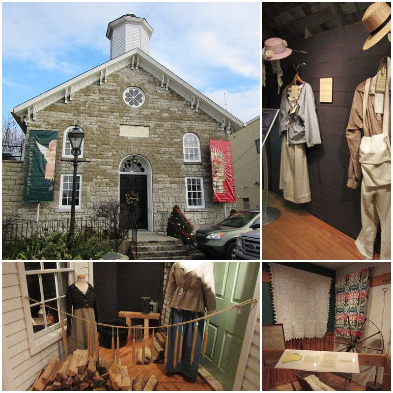 The Fort Erie Historical Museum is located in the beautiful old Bertie Town Hall.