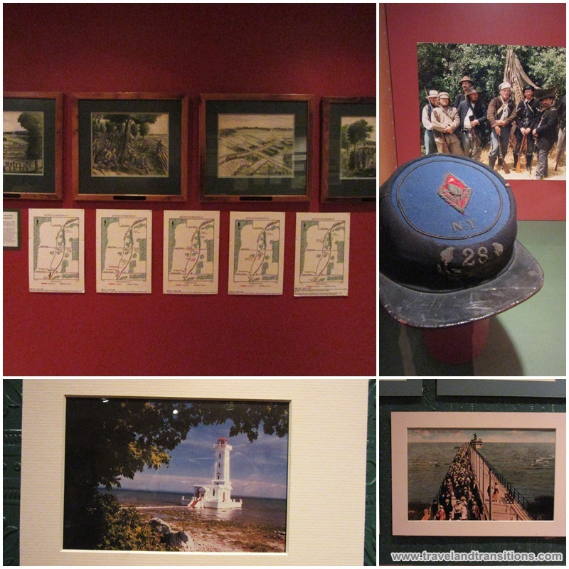Lots of interesting historical artifacts at the Fort Erie Historical Museum