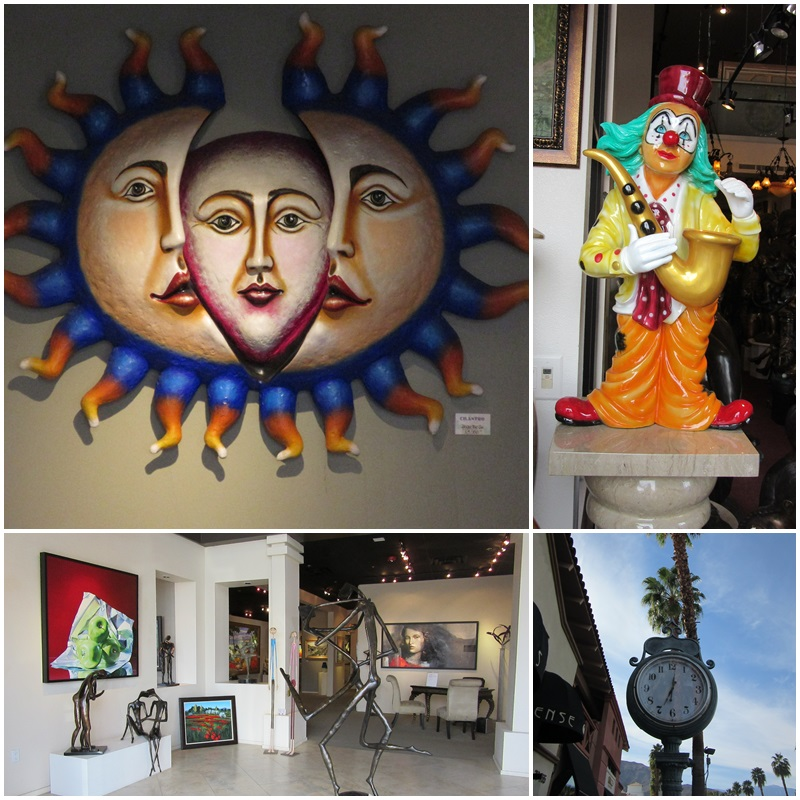 All sorts of art is on offer at El Paseo