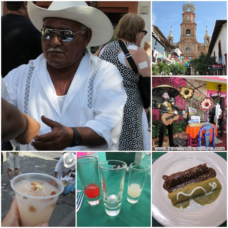 Delicious tuba water on the main square and mole at Gaby's Restaurant