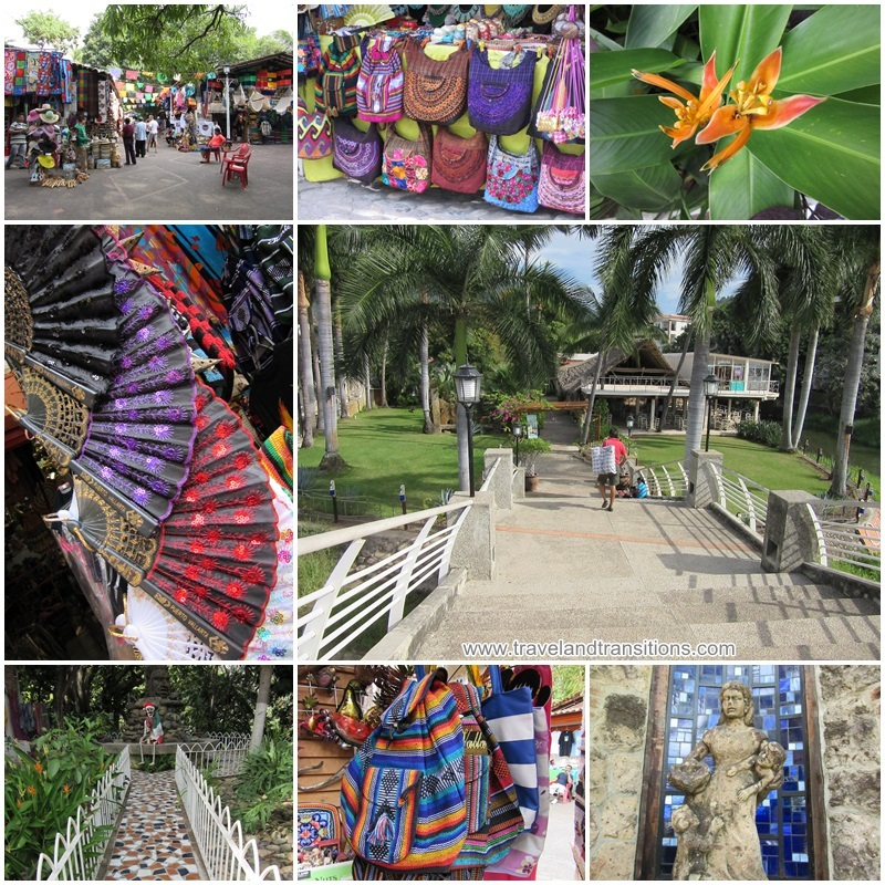 The western part of Isla Cuale has a crafts and souvenir market.
