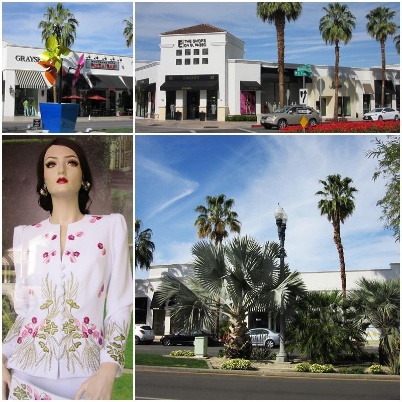 El Paseo - an elegant shopping street in Palm Desert