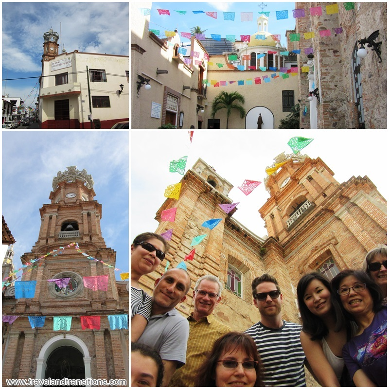 The Puerto Vallarta Food Tour took us to Our Lady of Guadalupe Church