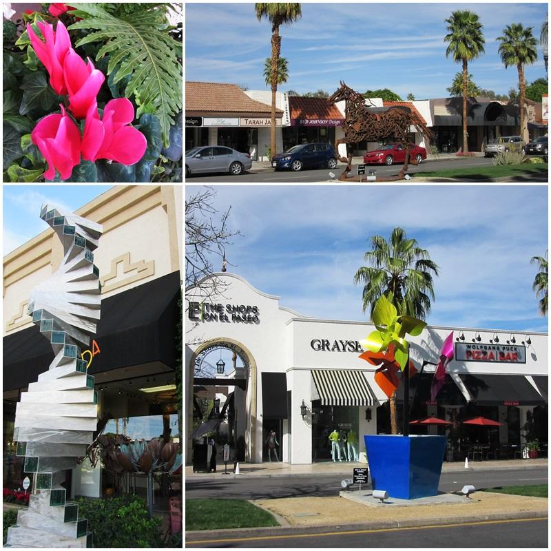El Paseo has more than 300 shops and restaurants